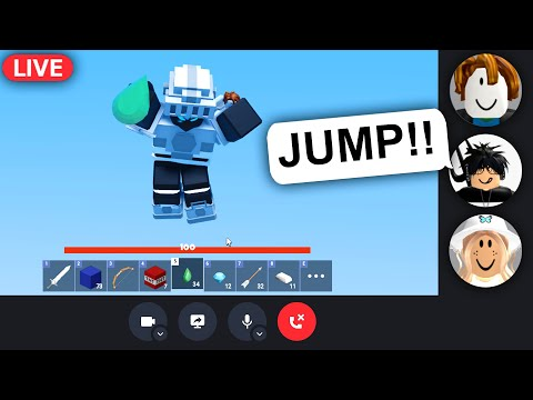 So I let my friends control my game.. (Roblox Bedwars)