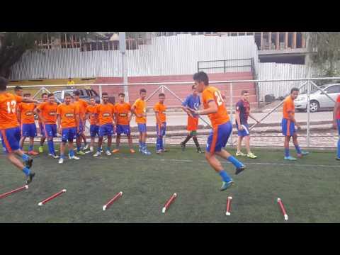 Entrenamiento fisico tecnico futbol