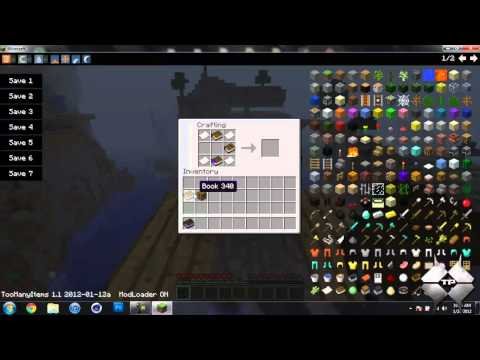 Minecraft 1.1 - How To Install The Crafting Guide Mod
