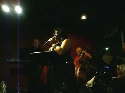 "Cynthia""CynSingsJazz"" Simmons sings ""Imagine"" at Ciao' Tulsa,Ok"