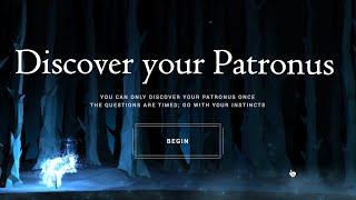 Discovering my PATRONUS - Pottermore (NEW FEATURE!)