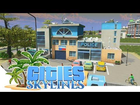 Mehr Polizei mit Customize It - Cities Skylines 07 - Dekoria