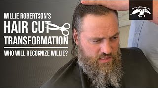 Willie Robertsons Hair Cut Transformation And Family Reactions