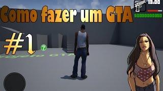 Como fazer um GTA #1 - Movimentando CJ e Colocando HUD - Unreal Engine 4