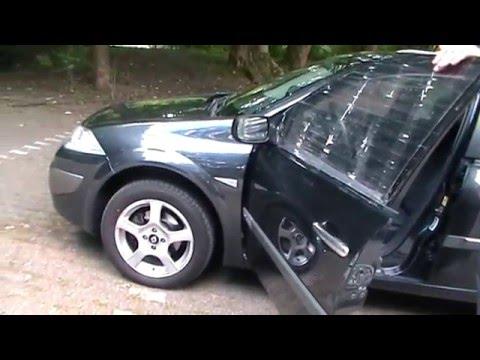 Renault Megane 2 - Стеклоподъёмник на водительской двери / Fahrertür Glasschiebemotor