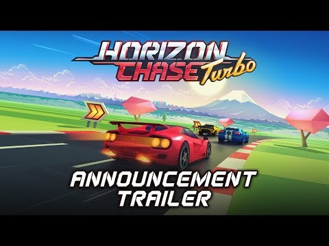 Horizon Chase Turbo - Announcement Trailer - May 15th 2018 - Playstation 4 and Steam (WIN/LINUX/MAC) thumbnail