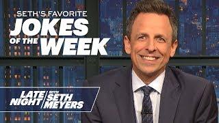 Seth's FavoriteJokesoftheWeek: New York Times' 2020 Endorsement, the Impeachment Trial