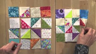 Addicted to Scraps with Bonnie Hunter for Quiltmaker March/April 2015