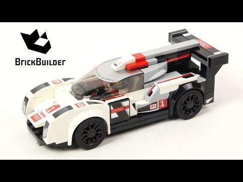 Vidéo LEGO Speed Champions 75872 : Audi R18 e-tron quattro