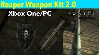 Skyrim SE Xbox One/PC Mods Reaper Weapon Kit 2.0