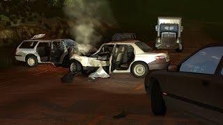 Deadly Car Crash Aftermaths - BeamNG Drive •Notsofancygames