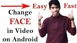 HOW TO CHANGE FACE IN VIDEO - Must Watch!