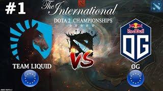 Мираклу отдали ИНВОКЕРА! | Liquid vs OG #1 (BO2) | The International 2018