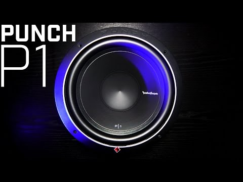 Rockford Fosgate Punch P1 Subwoofer – 2016 Review