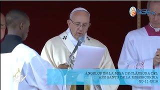 Clausura del Año Santo de la Misericordia- ÁNGELUS 20-11-2016