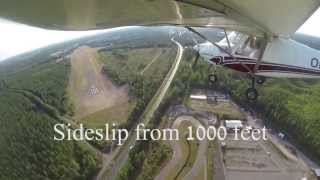 Flight Training: Sideslip
