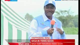 Kalonzo Musyoka addresses the people of Sibanga, Trans Nzoia