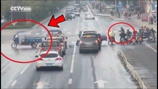 Video Penampakan Motor Berhantu Jalan Sendiri Di Jalan Raya