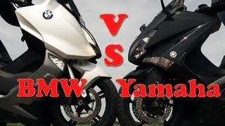 BMW C600 Sport vs Yamaha T-Max 530