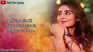 Main Laila Ki Tarah (Lyrics)Song | Dhvani   - YouTube