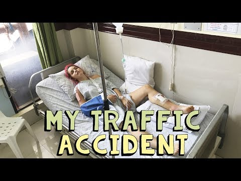 My traffic accident in the Philippines | VLOG