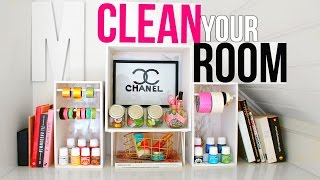 CLEAN YOUR ROOM  | 7 New DIY Organizations + Tips & Hacks!
