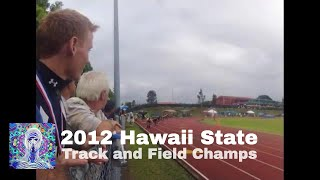 preview picture of video 'Seabury Hall Hawaii Track and Field State Championships 2012'