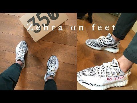 635f83daa01d YEEZY BOOST 350 V2 ZEBRA Real Vs. Fake (LEGIT CHECK) - Youtube Download