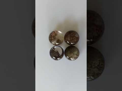 Green Chalcedony Smooth Cabochons
