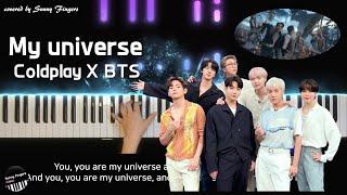 콜드플레이와 방탄소년단이 함께 부른(Coldplay X BTS) My universe