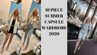 Summer Capsule Wardrobe 2020 | Fashion Over 40