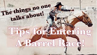 How To Enter A Barrel Race! | Barrel Race Tips No One Talks About