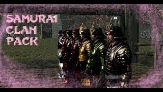 Weekly Skyrim Mods: Samurai Clan Pack, Japan Lodge at Skyrim, Sniper Bow Pack