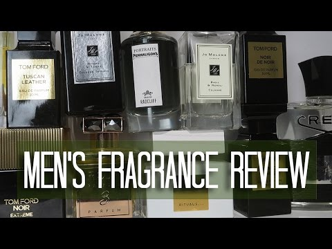 Men's Fragrance Review | Top 10 Fragrances for Men 2017