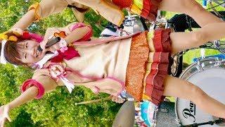 まいどハンバーガールZ・エンジェルビーフくうちゃん「バーガー星は夜の八時」ふかきた音楽祭深北緑地・芝生広場