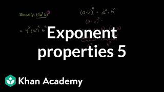Exponent Properties 5