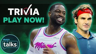 How Well Do You Know Sports? - LIVE QUIZ MojoTrivia!