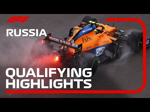 F1 第15戦ロシアGP(ソチ)予選タイムアタックのハイライト動画