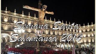 preview picture of video 'SEMANA SANTA SALAMANCA 2014 - SERÁFICA HERMANDAD DE NAZARENOS DEL SANTISIMO CRISTO DE LA AGONIA'
