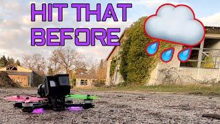 FPV | Hit that before the rain return ! ☔ 4k