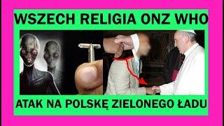 Atak na Polskę komunistów Komitetu Centralnego Wszech Religii Zielonego Ładu Lucyferian