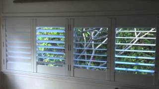 Plantation Shutters Hinged Byron Bay