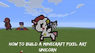 Minecraft Pixel Art De Unicornio 123vid