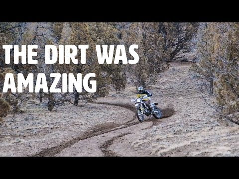 Epic Winter Riding Conditions - KTM and Husqvarna
