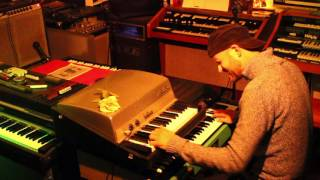 How i play - Touch Me (the DOORS) on Gibson G101 + Rhodes Piano Bass Thomas Vogt (Keyton) 2017