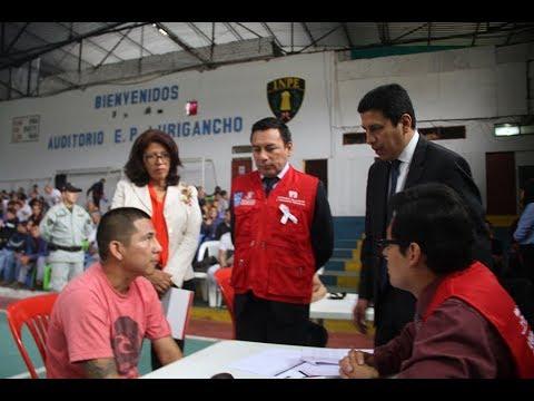 Internos en penal de Lurigancho reciben asesoría legal gratuita por el CAL