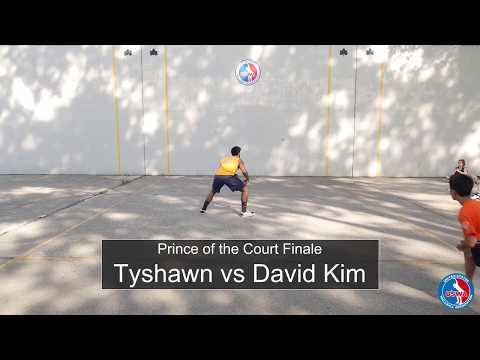 Prince of the Court finale - Tyshawn vs David Kim
