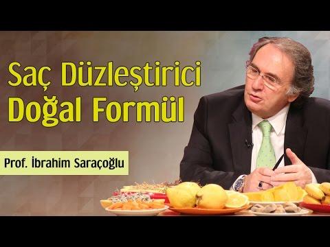 Saç Düzleştirici Doğal Formül | Prof. İbrahim Saraçoğlu