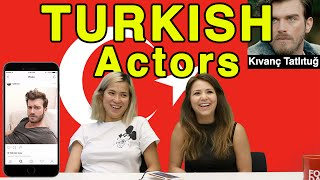 Like, DM, or Unfollow: Turkish Actors