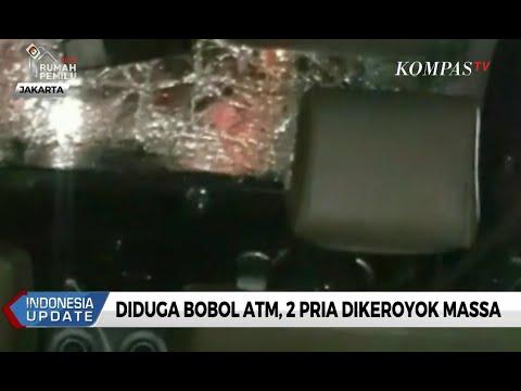 Diduga Bobol ATM, 2 Pria Dikeroyok Massa